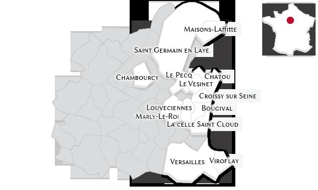 Les propriétés de prestige dans les Yvelines