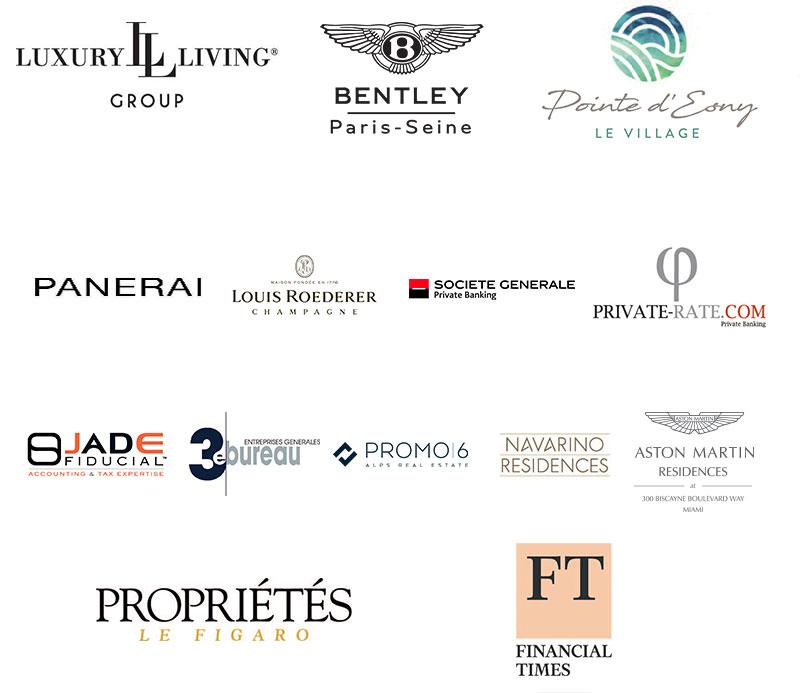 Barnes Luxury Property Show - Nos partenaires